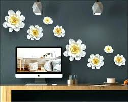 ceramic wall decor flower ceramic wall decor adorable flower decorating design of popular lots