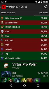 trackdota live dota games and esports by dotabuff 0 7 6 apk