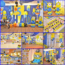 Minions Party Party Decorations Of Minions Merry Party Photo Blog