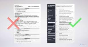 Resume One Page Template OnePage Resume Templates 24 Examples to Download and Use Now 1