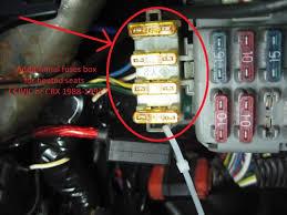 honda civic fuse box wiring diagrams