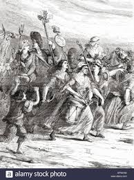 of the poissardes or market women to versailles on th   of the poissardes or market women to versailles on 5th 1789 during the french revolution to demand b and justice