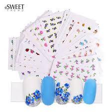 48 sets of nail dressing transfer sticker beautiful