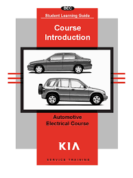basic automotive electrical course electric current capacitor