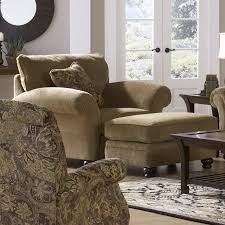 chair and half with ottoman c enchanting wow pictures image of club oversized leather storage microfiber barrel furniture overstuffed chairs