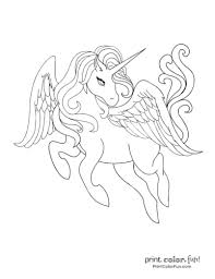 Marvelous coloring pages of baby unicorns coloring for cure. Top 100 Magical Unicorn Coloring Pages The Ultimate Free Printable Collection Print Color Fun