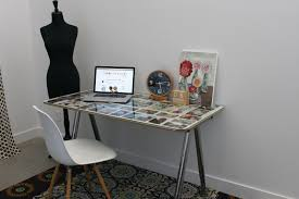 Office desk tops Laminate Furniture Gorgeous Ikea Glass Office Desk For Home Design Amusing Ideas Light Brown And With Under Top Metal Legs Mosaic Fur Rug White Chair Walls Clock Arcticoceanforever Furniture Gorgeous Ikea Glass Office Desk For Home Design Amusing