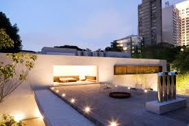 luxurious lighting ideas appealing modern house. furniture appealing outdoor garden with nice patio ideas and wooden floating shelf on white luxurious lighting modern house
