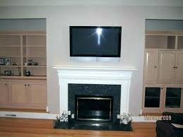 mounting a tv over a fireplace mounting a over a fireplace without studs mounting on brick