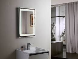 Budapest Lighted Vanity Mirror LED Bathroom Mirror Horizontal 197 ...