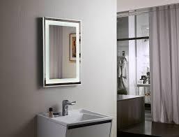 Budapest Lighted Vanity Mirror LED Bathroom Mirror Horizontal - Led bathroom vanity