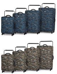 IT Luggage World s Lightest Quilted Four Wheel Spinner Travel ... & IT Luggage World's Lightest Quilted Four Wheel Spinner Travel Luggage  Suitcase Various Sizes Design Adamdwight.com