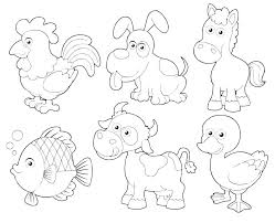 Kids Farm Coloring Pages Teach Your Students About Different Farm