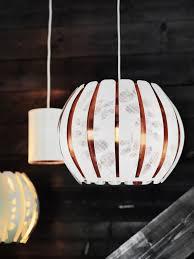överud Lampenkap Wit Koperkleur Kreativ Lampen Ikea Lampen