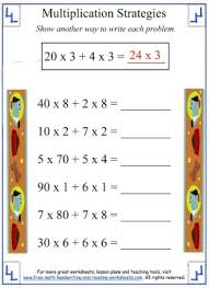 Partial Products - Multiplication Strategies