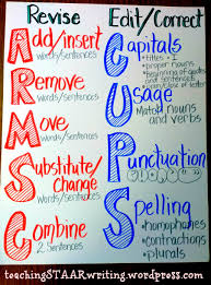 Revise And Edit Anchor Chart 30 Unique Revise And Edit Anchor Chart