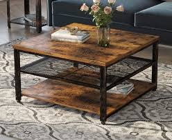 china retro style concise coffee table