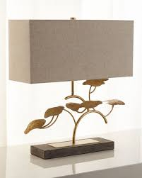 neiman marcus lighting. Simple Lighting Valuable John Richard Table Lamps Collection Gold Leaf Tree Lamp Neiman  Marcus  In Lighting O