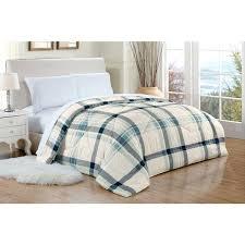 rt designers collection pine ridge plaid comforter brown orange and