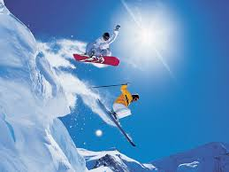 Image result for skiing and snowboarding images