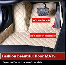 car seats car mats and seat covers auto floor leather non slip foot carpet