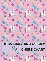 Kids Daily And Weekly Chore Chart