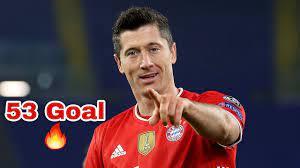 جميع اهداف ليفاندوفسكي 2021 / 2020 هذا الموسم ، 53 هدف ، FHD - YouTube
