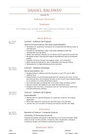 Senior Qa Engineer Sample Resume Stunning Beautiful Senior Qa Engineer Sample Resume B40online Page 40869