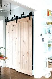delightful barn door closet doors 31 style interior minimalist living room design with double sliding finished