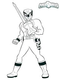 Original Mighty Morphin Power Rangers Coloring Pages