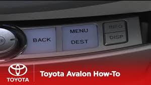2005 - 2007 Avalon How-To: Navigation System - Input Destination ...