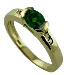 russian chrome diopside ring authentic solid gold engagement top jewelry natural orjwiu2751 gemstone