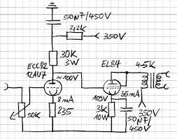 tube amp diagram schematic elctron vacuums tube amp diagram schematic electronic circuitvacuum