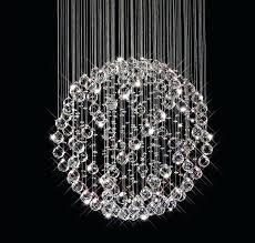 hanging ball chandelier designs inside glass idea bubble uk