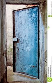 Door To An Abandoned Warehouse Stock Image - Image: 58535385