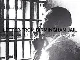 Letter From Birmingham Jail by mariagrimmy
