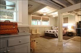 Cool Basement Unfinished Basement Ideas Cool Basement Bedroom Unfinished Ceiling