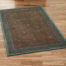 athens greek key rectangle rug