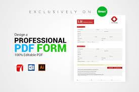 Design An Invoice Design Invoice Order Form Registration Make It Fillable