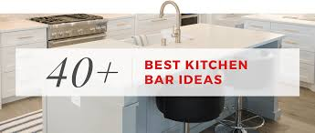 40+ Best Kitchen Bar Ideas - Kitchen Cabinet Kings