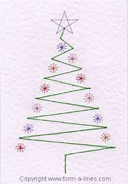 Free Christmas Tree Template Free Christmas Tree Card Pattern At Form A Line