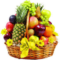gift same day delivery in bangalore to send 5 kg fresh fruits basket