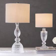 etta pressed bedside table lamps pottery barn