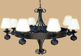 meval chandelier wrought iron