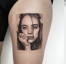 Check out our billie eilish tattoo selection for the very best in unique or custom, handmade pieces did you scroll all this way to get facts about billie eilish tattoo? Tattoo Ness Op Twitter Billie Eilish 5h 40min Billieeilish Singer Inspiration Tattoo Inked Tattooart Tattoos Tattoodesign