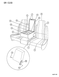 1996 dodge ram 3500 front seat diagram 00000ezm