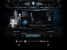 Flash Website Templates Divine Knights Flash Clan Site By ImmoRtalMedia On DeviantArt 9