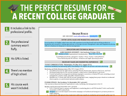 8 Resume Template For Recent College Graduate Budget Reporting