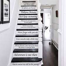 Stairs Quotes Cool Disney Stair Decals Quotes Stairway Decals Quote 48 Steps Vinyl