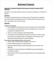 Catering Proposal Letter Inspiration Free Sample Proposal Template Business Proposal For Services
